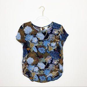 H&M Floral Blouse Size 8